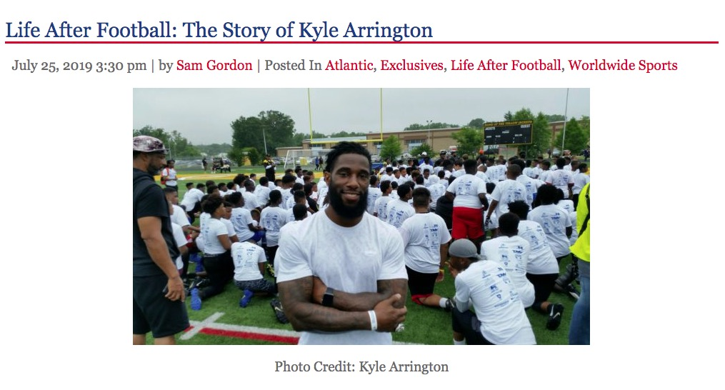 Life After Football: The Story of Kyle Arrington